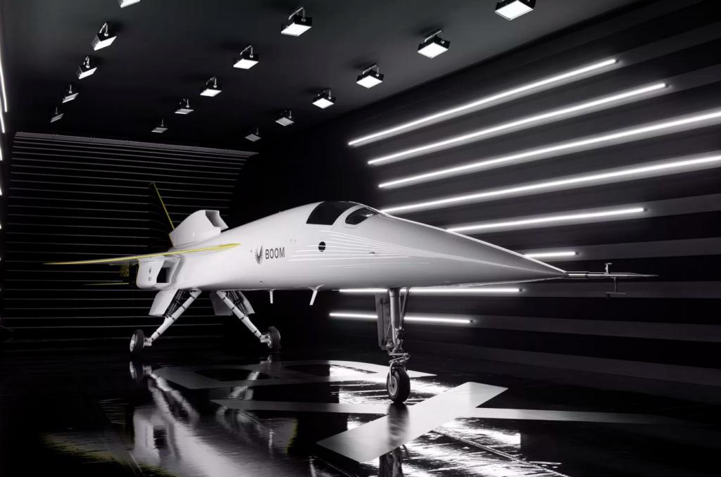 Komerciālā reaktīvā lidmašīna Boom Supersonic