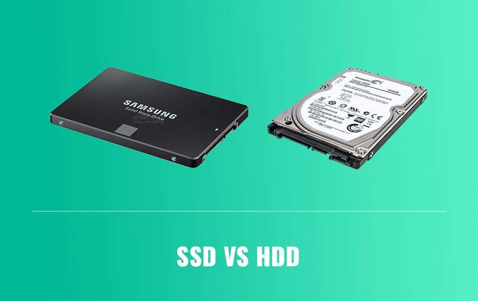 ārējais cietais disks SSD pret HDD