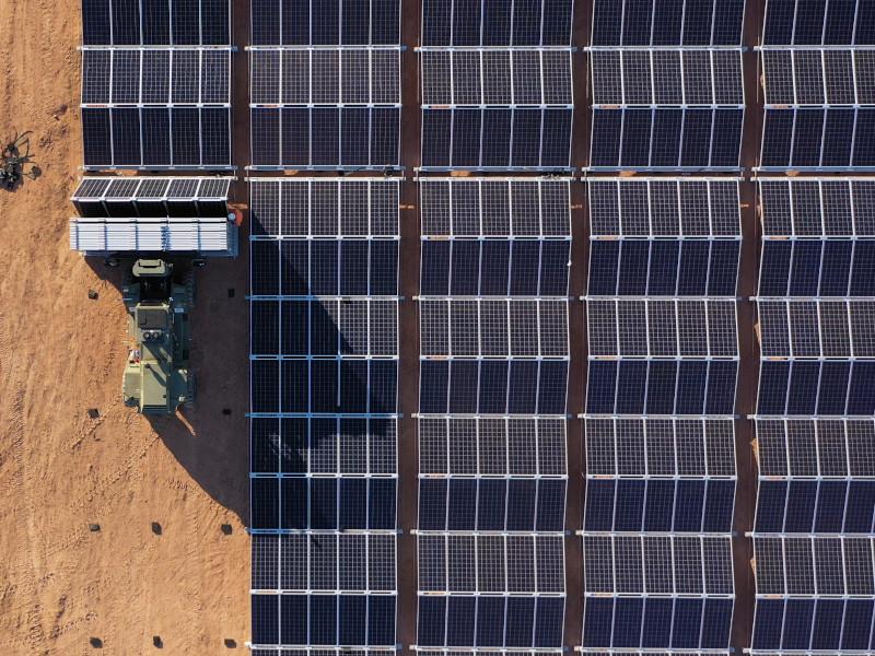 Austrālijas saules enerģijas parks
