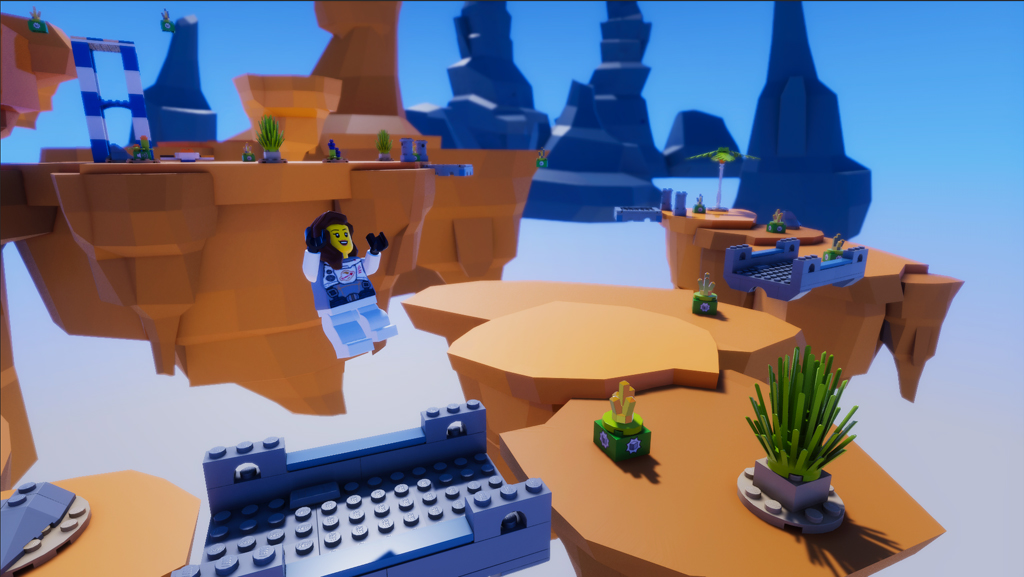 Lego Microgame spēļu veidošanas rīks