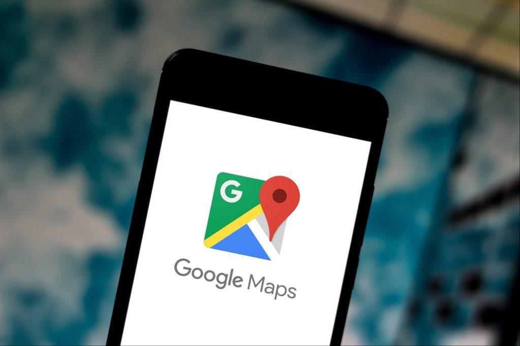 Google Maps tālrunī