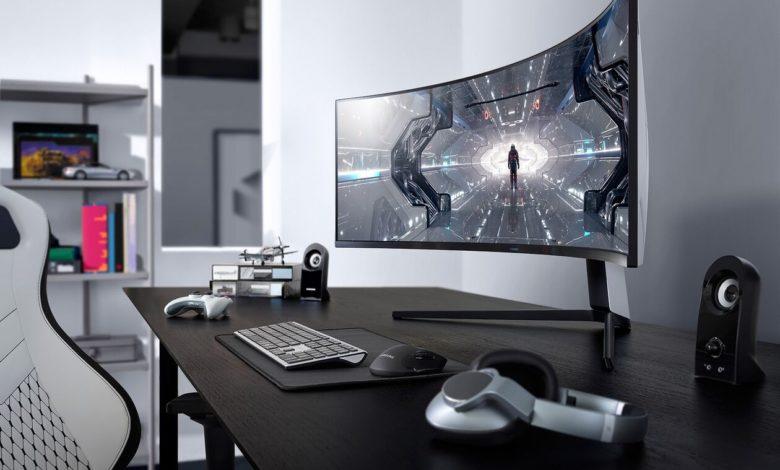 videospēles relaksē Samsung monitors