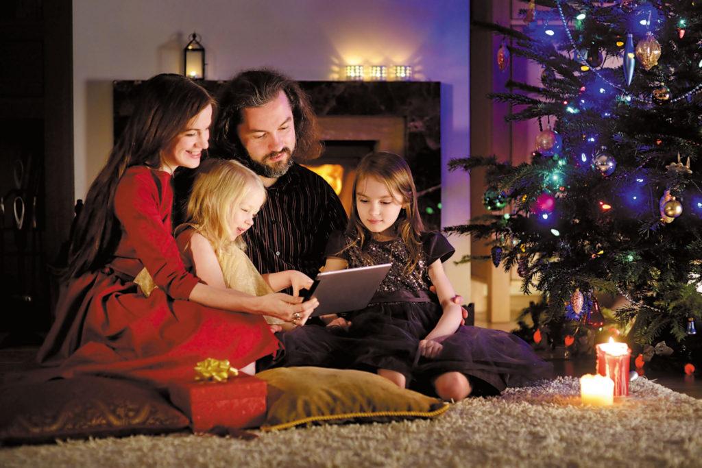 Ziemassvētku videozvans
