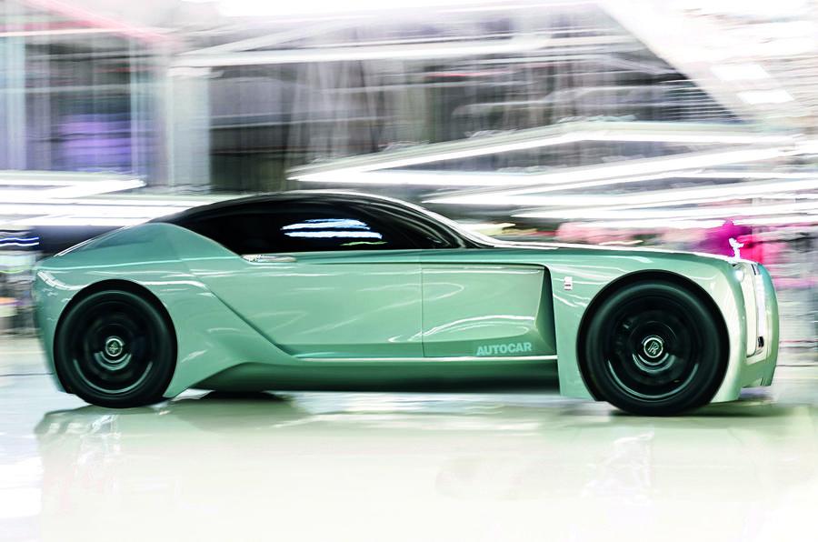 Kāds būs Rolls-Royce elektroauto