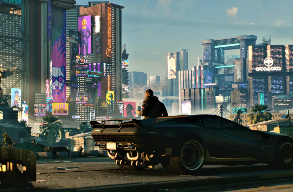 Cyberpunk 2077 ielāps