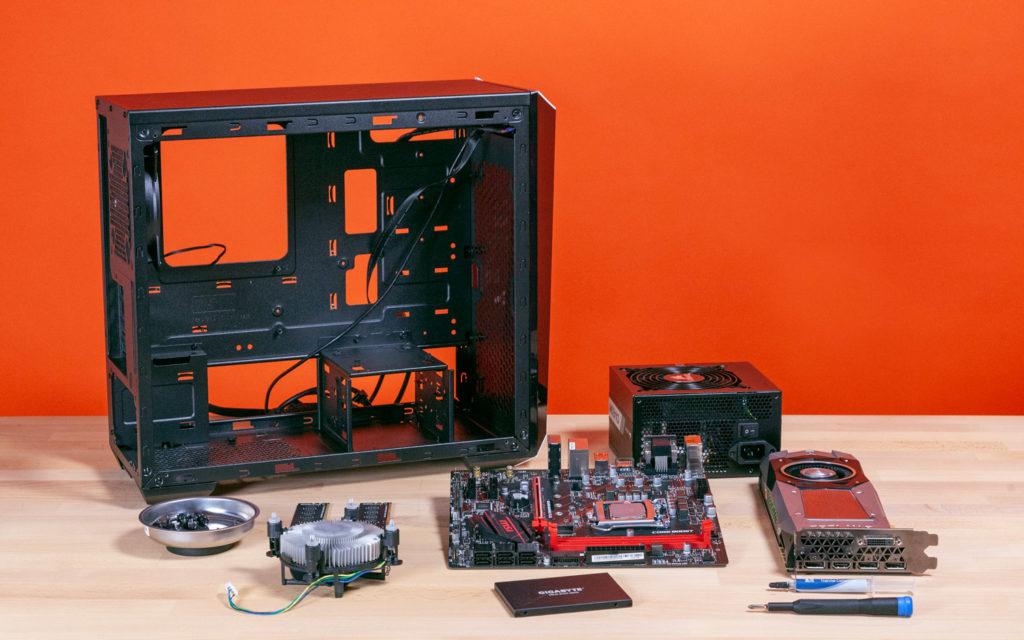 kā salikt datoru? datora salikšana soli pa solim