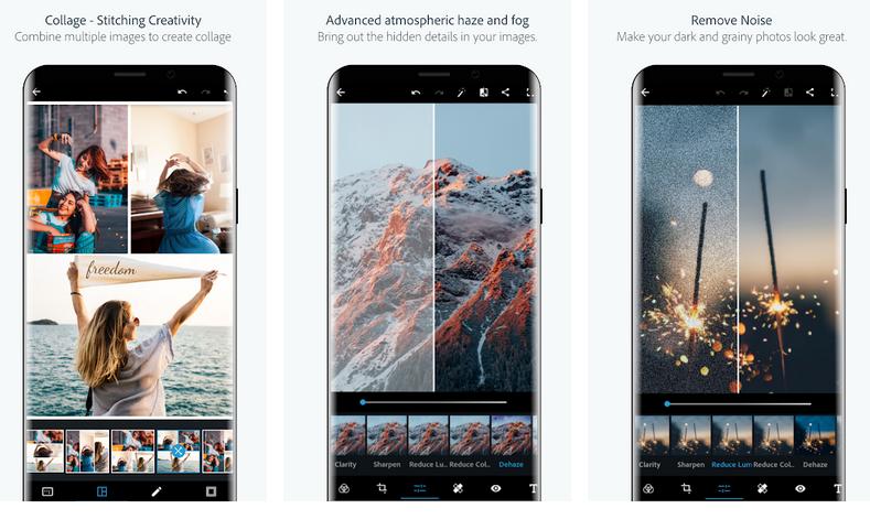 fotoattēlu rediģēšanas lietotnes