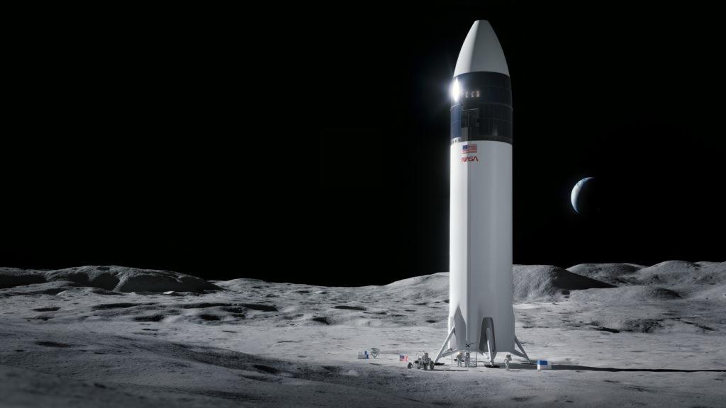 SpaceX izvēlēts mēness moduļa izveidē