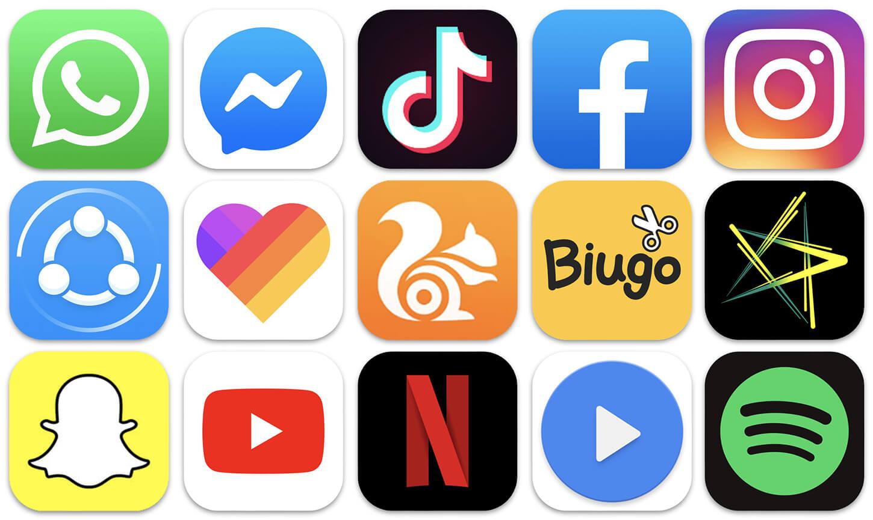 populārākā lietotne