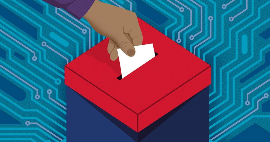 pētīs, kā uzlabot elektronisko vēlēšanu drošību