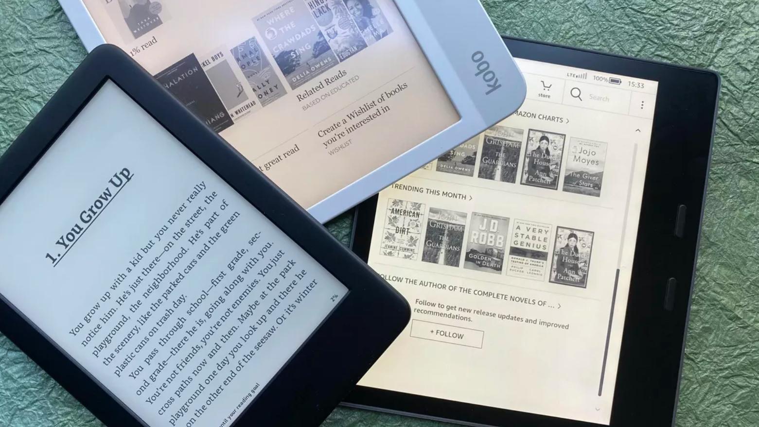 Kā izvēlēties sev piemērotāko e- grāmatu lasītāju?
