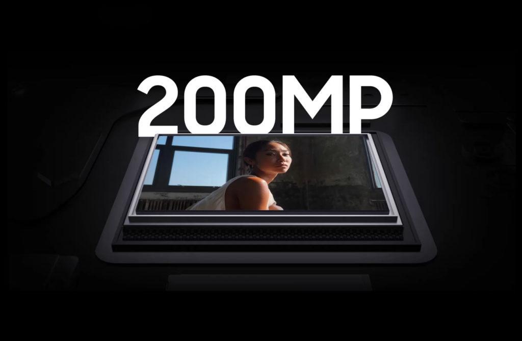 Samsung 200 MP kameras sensors
