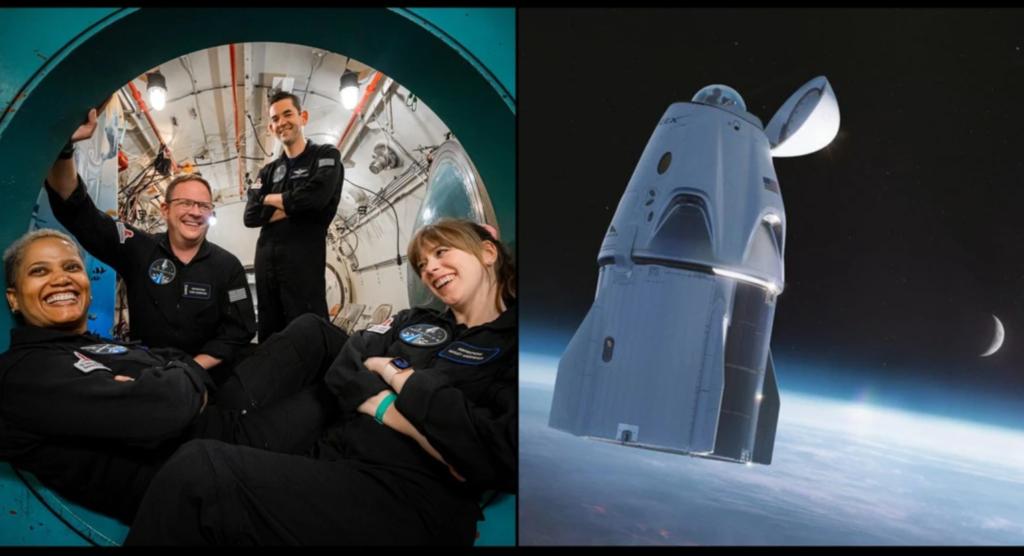 SpaceX uzsāk pirmo privātās apkalpes misiju kosmosā
