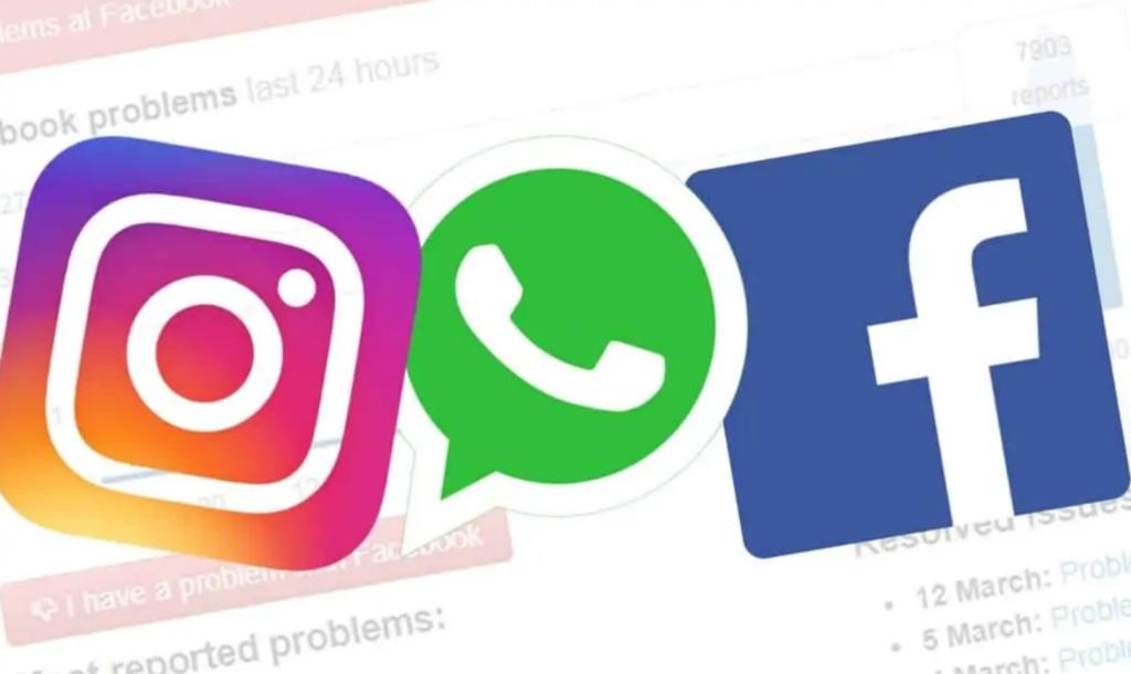 Traucēta Facebook, Instagram un citu sociālo tīklu darbība